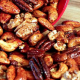 Perfect for snacking, Spiced Nuts